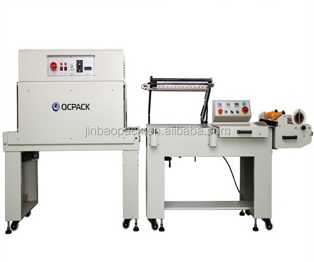 BTL-450+BM-500 Semi-Automatic Manual operation sealer shrink wrapping machine
