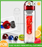 700ml Korea Style Creative Clear Plastic Portable Bicycle Health Lemon Fruit Juice Water Bottle