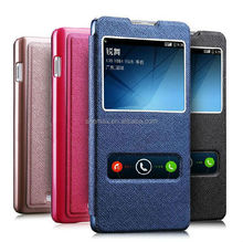 New Arrivals Dual View Case Cover For Huawei Ascend P7