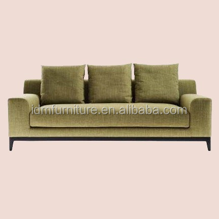 Modern new fashion 3 seater sofa dimensions IDM-S043
