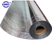 Eco-Friendly aluminum transparent laminated woven foil pallet cover LANDY, aluminum red EPE/ XPE heat insulation material