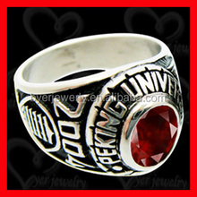 classic style class ring/high school rings for graduation ceremony made by byer