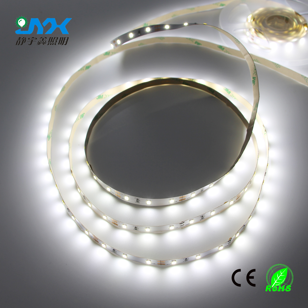 Ip20 nonwaterproof Led Strip Light 2835 3528 5050 SMD DC12V 60Leds/M Fiexble Light Led Ribbon Tape Lamp white 6500K