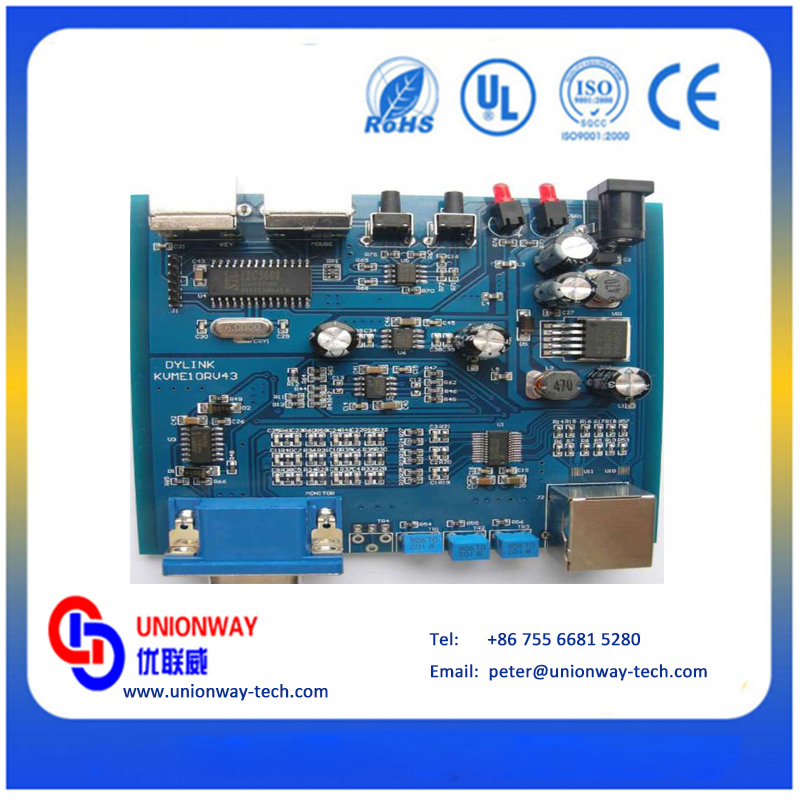 Shenzhen Printed circuit board manufacturer, pcb assembly oem manufacturer,One-stop electronic pcb Assembly Service