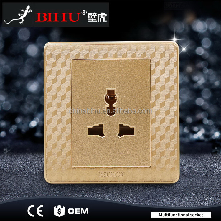 Welcome wholesales latest low voltage 3 pin switch socket