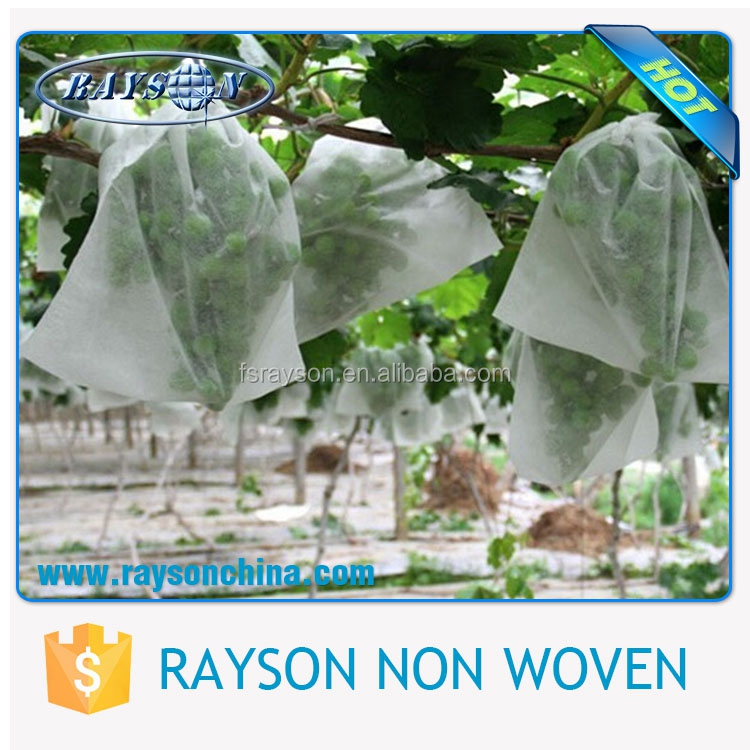 Protective Nonwoven Fabric White Polypropylene Banana Fiber Bag