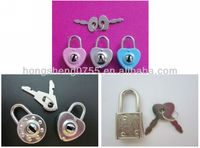 cheap price metal pad lock/dairy pad lock/pad lock for note book