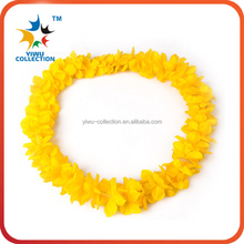 Beautiful Hot Sale polyester Hawaii Flower Lei