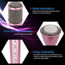 top selling gadgets Mini Karaoke Player Wireless Bluetooth Microphone with Mic Speaker KTV Singing Record for Smart Phones