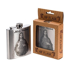 High Quality 6OZ-170ML Stainless Steel Flask Liquor With Water Transfer Printing