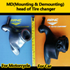 AA4C Mounting& Demounting head of tire changer (For motorcycle usage)