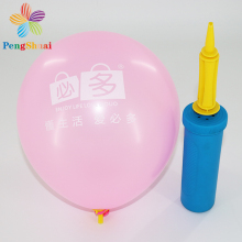 China wholesale pink color advertising custom logo latex balloons