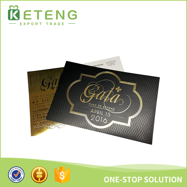 Hot sale free luxury invitation card design for opening ceremony