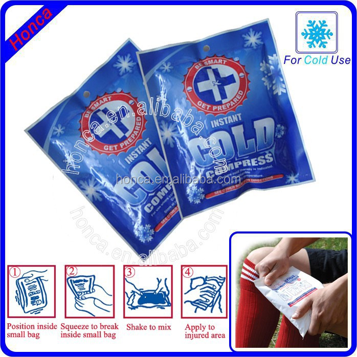 instant cold packs with ammonium nitrate