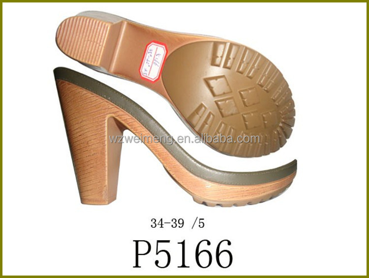new design lady flat soft natural sandals pvc sole