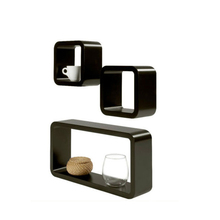 Wall Mount Cube Decorative Floating Wall Mount Home Wall Shelf