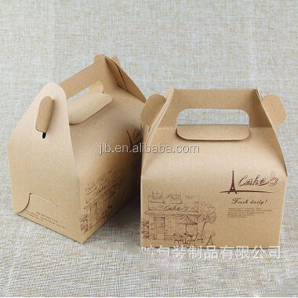 Environmental and Dispensable Food Package Paper Box