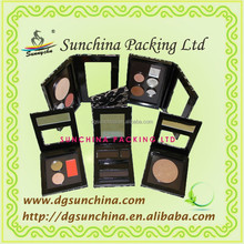 Free sample paper cosmetic box for eye shadow