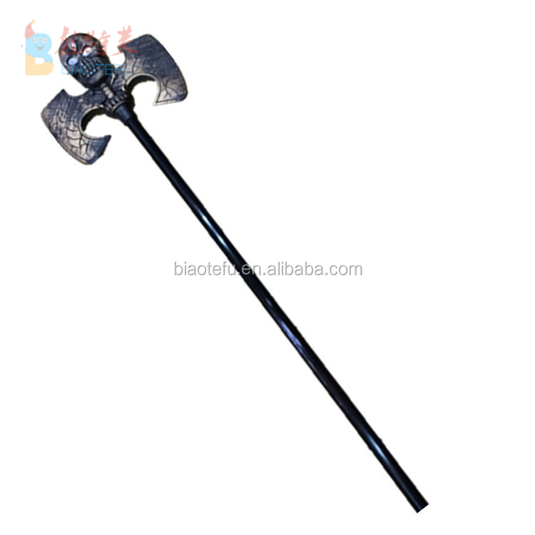 halloween toys plastic stage prop axe weapons