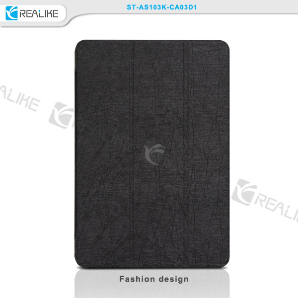 Folding pc stand tablet Smart Leather tablet case for asus memo pad 173