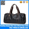 Hot selling designer duffel bag style pu weekend sport leather travel bag men