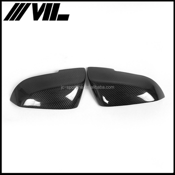 Full Replacement Carbon Fiber Mirror Covers for BMW E87 F20 F30 F35