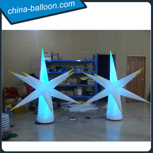 advertising inflatable flower/ giant inflatable flower decoration/led inflatable tube for sale