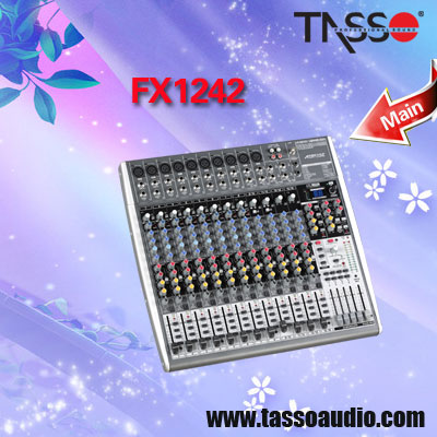 China audio lighting dj mixers stereo stage light dj mixer