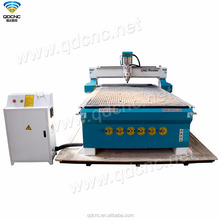 used double Vacuum table+Aluminum T-slot table/3-axis cnc router with high process accuracy QD--1325B