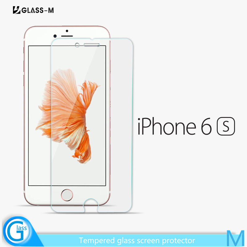 Premium Tempered Glass Crystal Clear Screen Protector for iPhone 6s