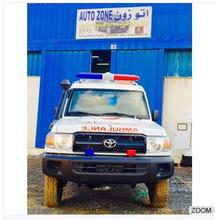 High Quality 4X4 Ambulance Land Cruiser HZJ78 Dubai