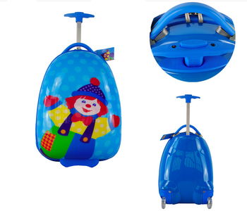 New products children school bag abs luggage