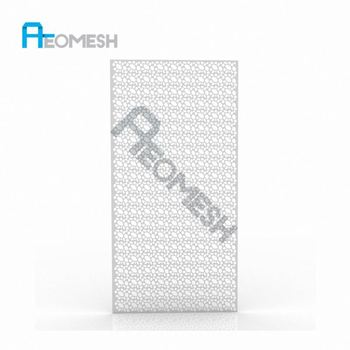 Made in Guangzhou Professional Factory A variety of hole Decorative Metal Perforated Mesh