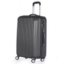 ABS 3 pcs set eminent aircraft trolley 2 zipper case hard shell luggage bag business luggage