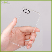 Crystal hard plastic phone case for phone 5s, for iphone 5 phone case cover