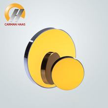 Carmanhaas K9 CO2 laser mirror dia. 20mm glass material <strong>w</strong>/ golden coating laser reflecting mirror