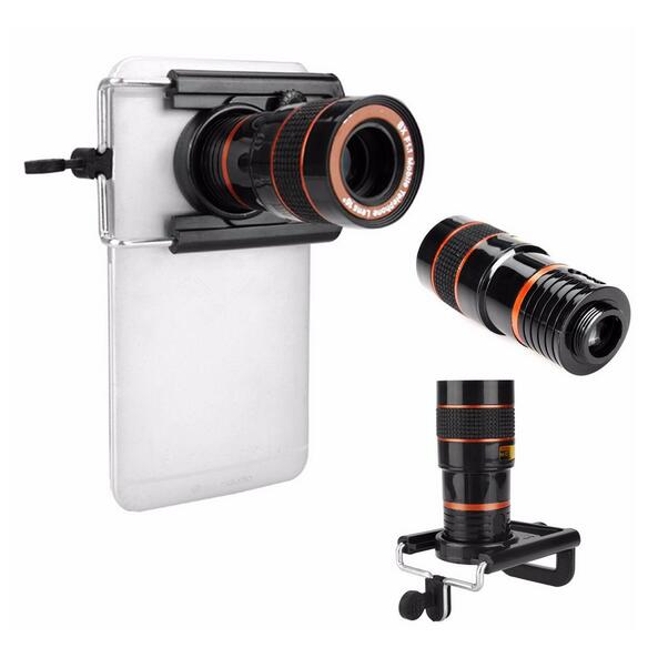 ABS telescope camera lens mobile phone lens zoom 8X