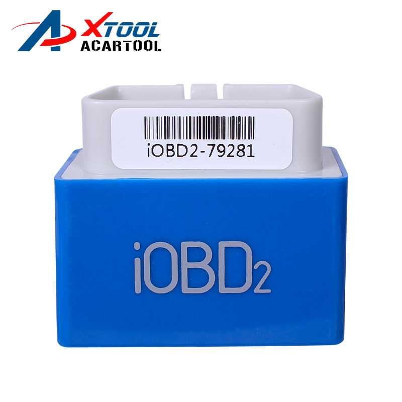 Promotion 100% Original XTOOL iOBD2 Bluetooth OBD2/EOBD Auto Scanner Code Reader For iPhone/Android Vehicle Diagnostic Tool