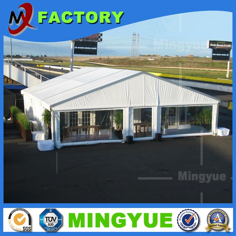 500 people Heavy duty PVC white small wedding marquee party tent, gazebo tent for exbition, party and event