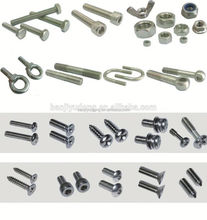decorative screws titanium fastener