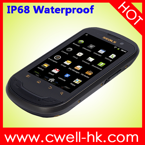 Factory price Unlocked IP68 Waterproof Rugged Android 3G best 3.5 inch android smartphone SEALS TS3