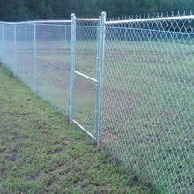 Football basketball chain link fence for playground
