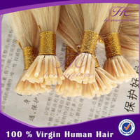 "100% virgin Indian human hair extension keratin 30"" i-tip hair"