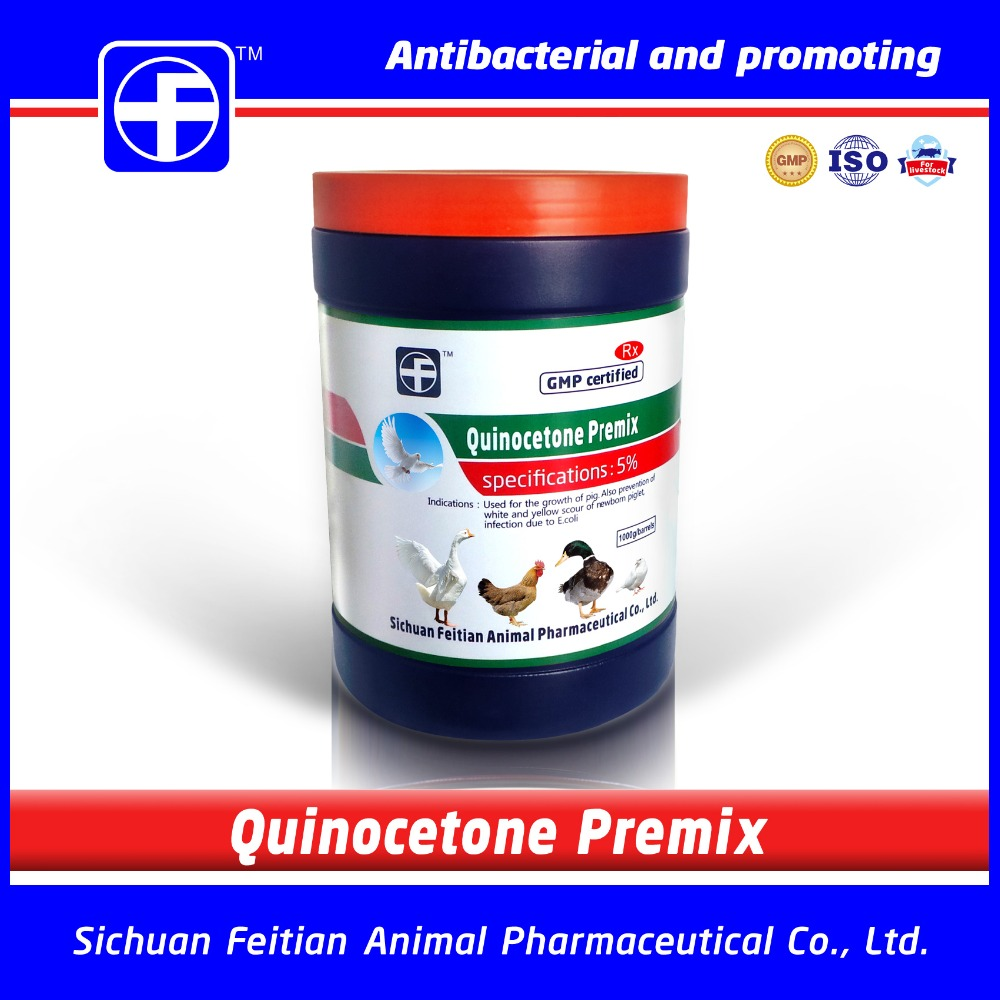 Quinocetone Premix / Weight gain medicine for diarrhea for pig
