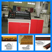 PS foam photo frame profile making machinery/plastic making machine