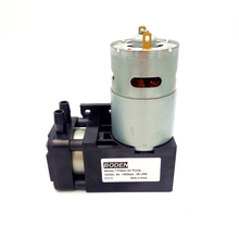 30L/min 6.5 bar 24 volt 12volt High Pressure Vacuum Air Pump with <strong>Brush</strong> or Brushless DC Motor