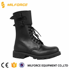 MILFORCE-selected materials black leather military motorcycle riding boots