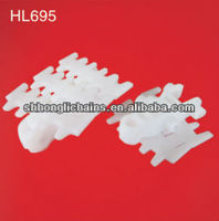 HL695 plastic teeth type flex chains conveyor chains