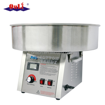 Commercial stainless steel digital cotton candy floss machine price