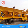 High quality low price 25T mobile concrete batching plant